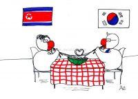 Los fideos de amor coreanos