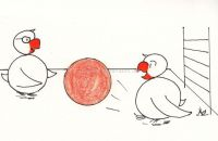 Ball und Therapeut
